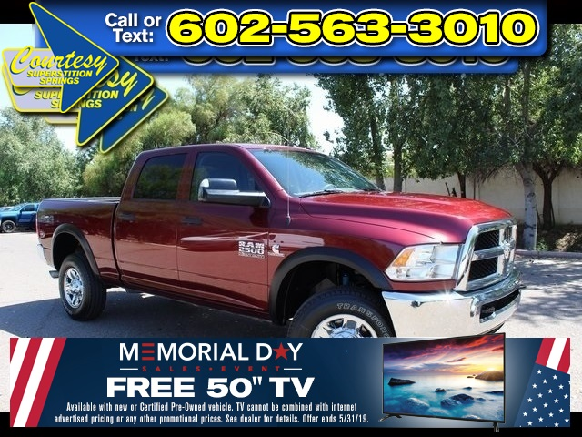 Certified Pre-Owned 2018 Ram 2500 Tradesman