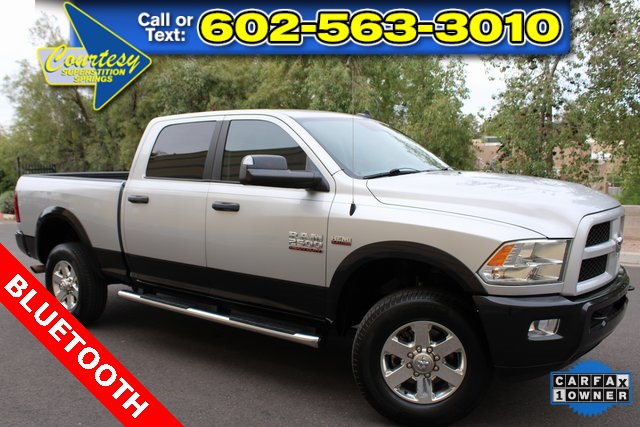 Certified Pre-Owned 2015 Ram 2500 Outdoorsman