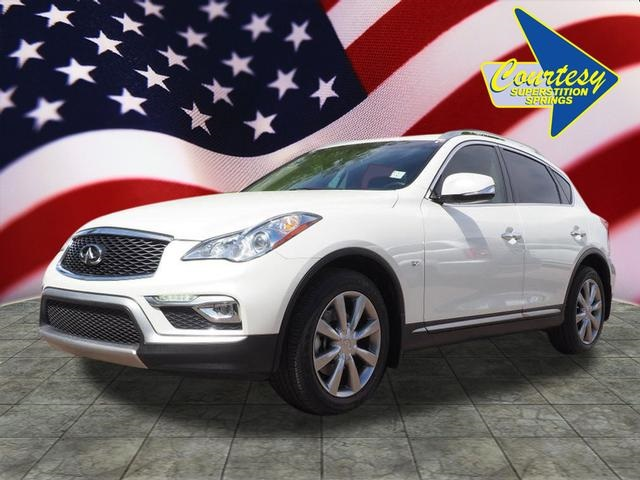 Pre-Owned 2017 INFINITI QX50 Base